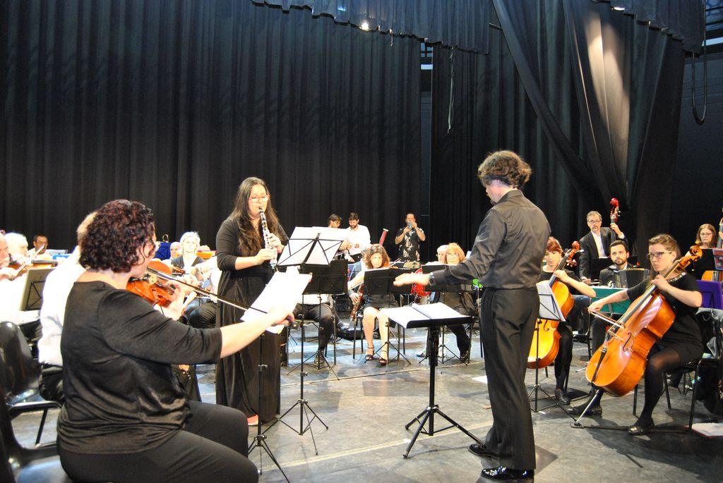 Ensayo orquesta