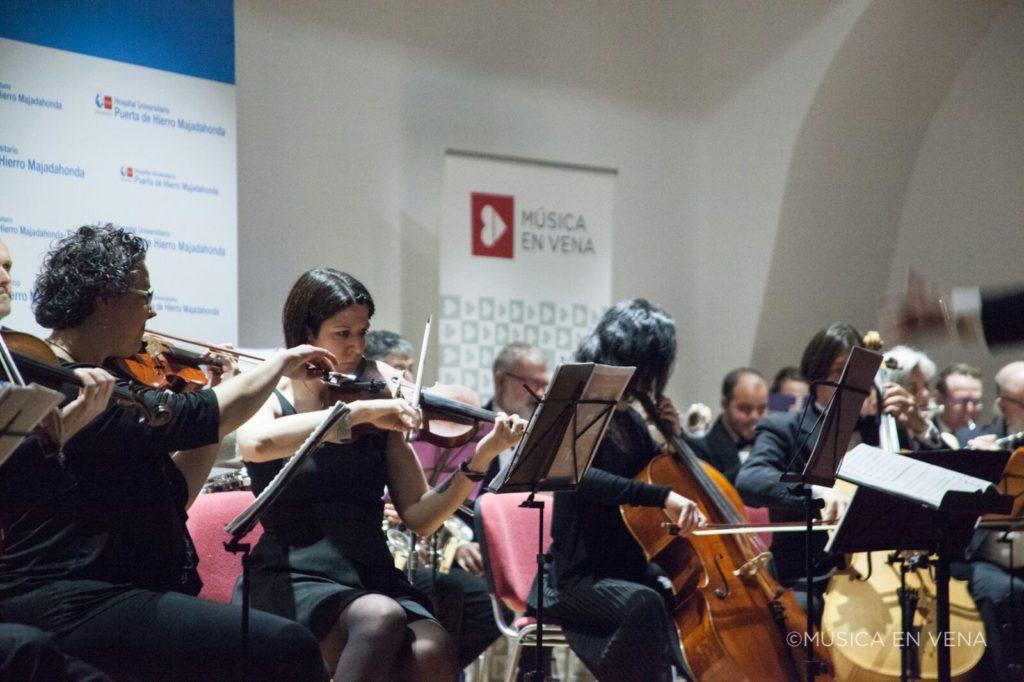Concierto solidario Auditorio Hospital Puerta de Hierro